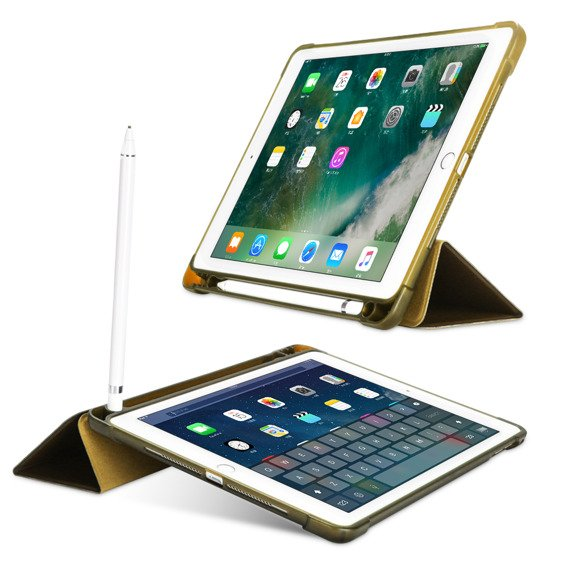 Etui do iPad 9.7 2018/2017/ Air / Air 2 - Smart Case with Pen Slot Gold