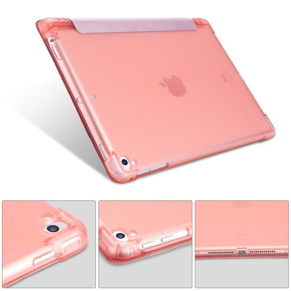 Etui do iPad 9.7 2018/2017/ Air / Air 2 - Smart Case with Pen Slot Rose Gold