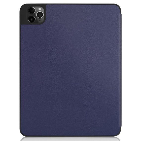 Etui do iPad Pro 11 2018/2020, Tri-Fold case pen slot, Dark Blue