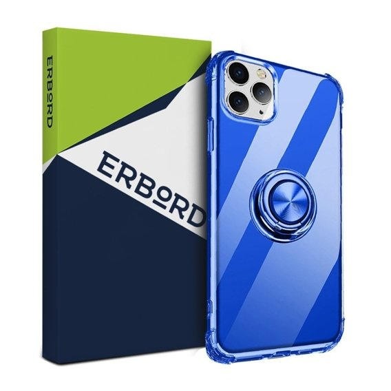 Etui do iPhone 11 - ERBORD Airbag Ring - Blue