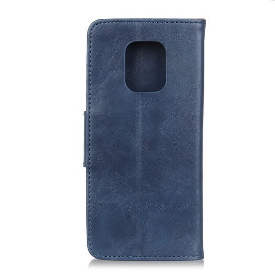 Etui skórzane Wallet Flexi Book do Xiaomi Redmi Note 9S/9 Pro/9 Pro Max - Blue