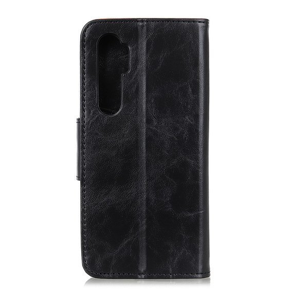Etui skórzane Wallet  do Xiaomi Mi Note 10 Lite - Black