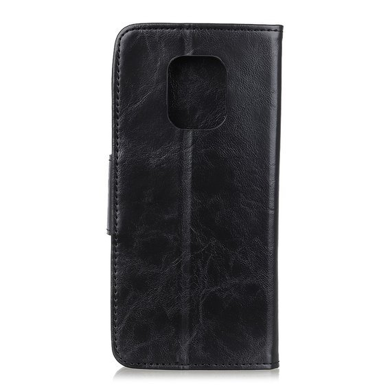 Etui skórzane Wallet do Xiaomi Redmi Note 9S/9 Pro/9 Pro Max - Black