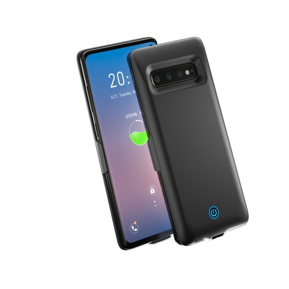 Etui z Baterią 7000mAh do Samsung Galaxy S10 - Black