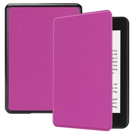 Fioletowe Etui Book Case Amazon Kindle Paperwhite 4 2018