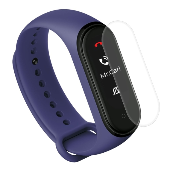 Folia HAT PRINCE TPU na Ekran do Xiaomi Mi Band 4 (2 sztuki)