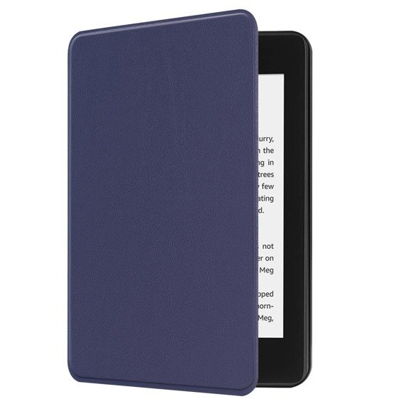Granatowe Etui Book Case Amazon Kindle Paperwhite 4 2018