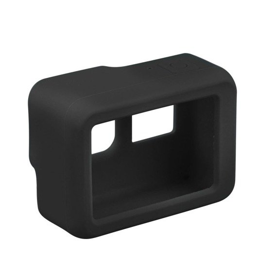 Gumowe Etui Smooth GoPro Hero 1/2/3/4/5/6/7 - Black