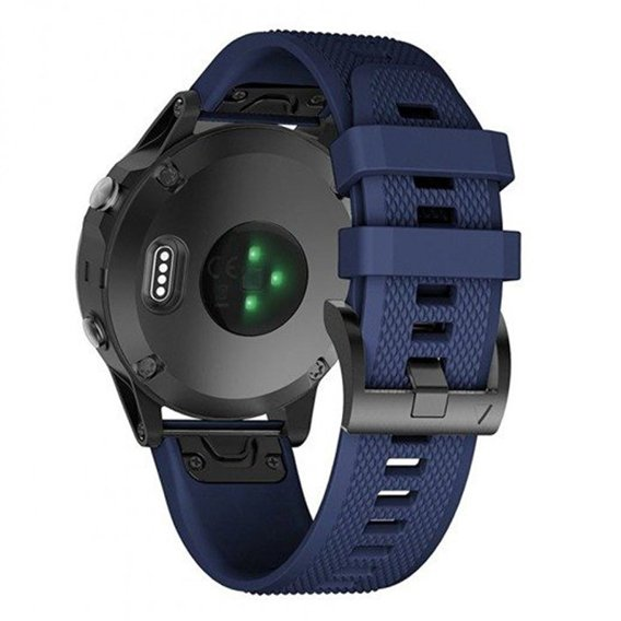 Pasek Smooth do Garmin Fenix 3/5X/3HR/5X Plus /6X/6X Pro (26mm) - Navy Blue
