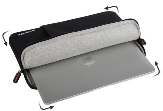 Haweel Oxford Etui MACBOOK AIR/PRO 13 - Black