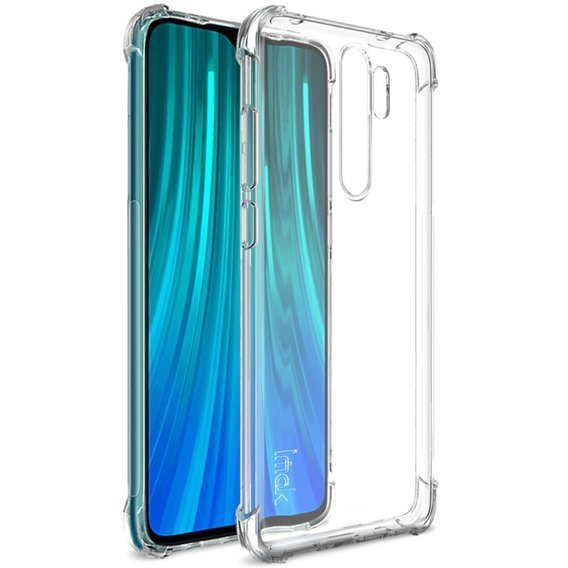 IMAK Etui Dropproof do Xiaomi Redmi Note 8 Pro - Transparent