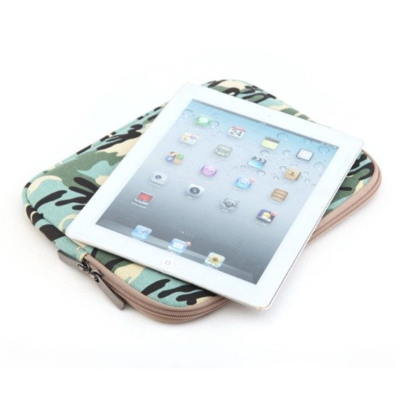 LISEN Etui Sleeve Bag do MACBOOK AIR/PRO 13 - Camouflage Green