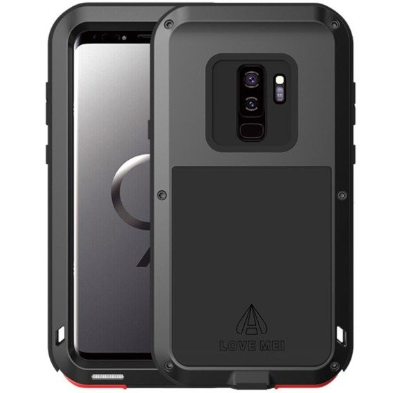 Love Mei Etui Powerful Defender Samsung Galaxy S9+ Plus - Black