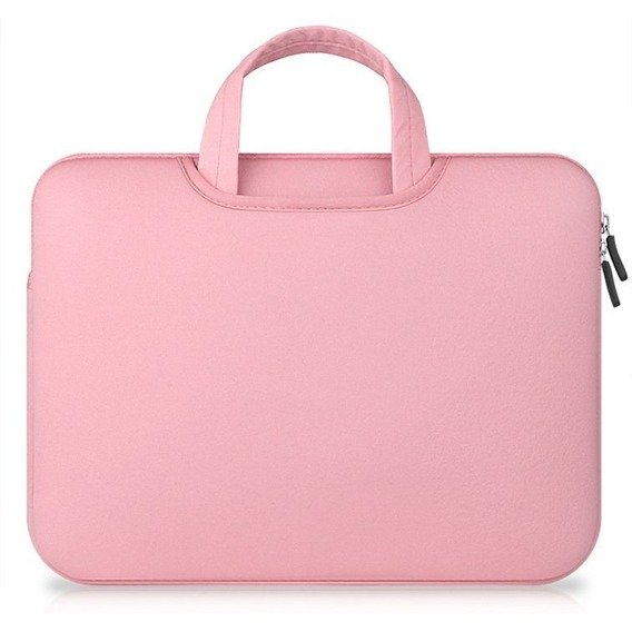 OUTLET Etui Airbag na laptop 14 cali - Pink