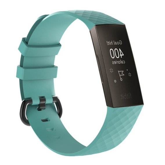 Opaska Flexi do Fitbit Charge 3 - Cyan