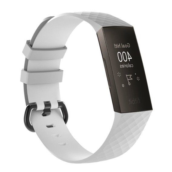 Opaska Flexi do Fitbit Charge 3 - White