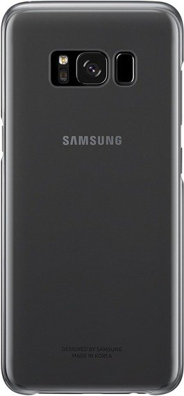 Oryginalne Etui Clear Cover Samsung Galaxy S8 - Black