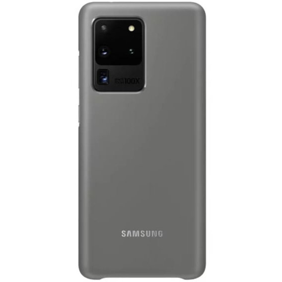 Oryginalne Etui LED Cover Samsung Galaxy S20 Ultra - Gray