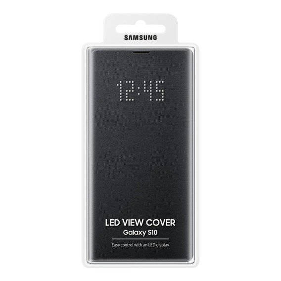 Oryginalne Etui LED View Cover Samsung Galaxy S10 - Black