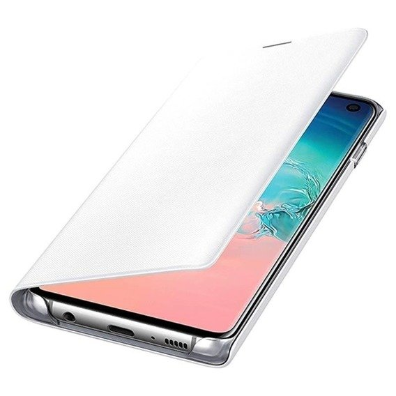 Oryginalne Etui LED View Cover Samsung Galaxy S10 - White