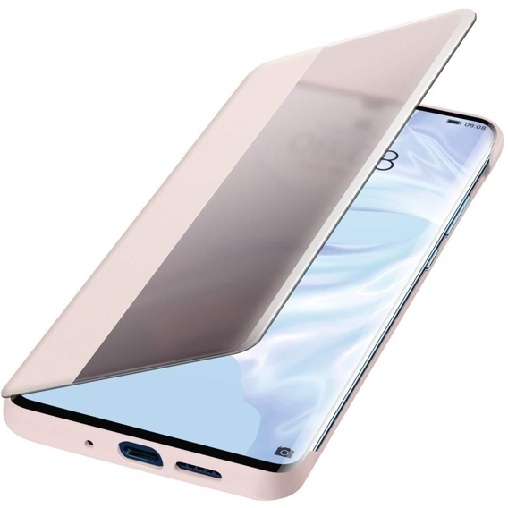 Oryginalne Etui View Smart Cover HUAWEI P30 Pro - Rose Gold