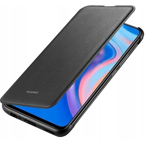 Oryginalne Etui Wallet Cover do Huawei P Smart Z - Black