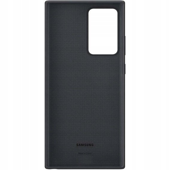 Oryginalne Etui do Samsung Galaxy Note 20 Ultra  - Silicone Cover - Black
