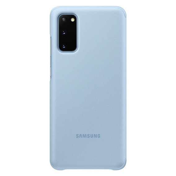 Oryginalne Etui do Samsung Galaxy S20 - Clear View Cover - Sky Blue