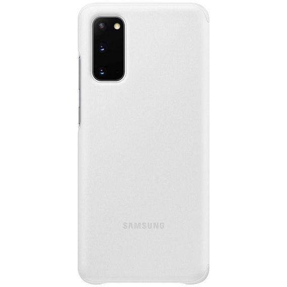 Oryginalne Etui do Samsung Galaxy S20 - Clear View Cover - White