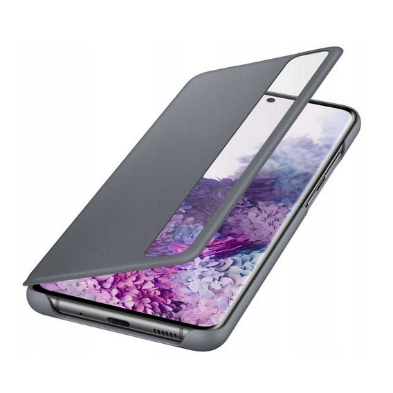 Oryginalne Etui do Samsung Galaxy S20+ Plus  - Clear View Cover - Grey