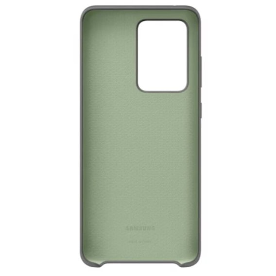 Oryginalne Etui do Samsung Galaxy S20 Ultra - Silicone Cover - Gray