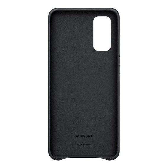Oryginalne Skórzane Etui Samsung Galaxy S20+ Plus - Leather Cover - Black