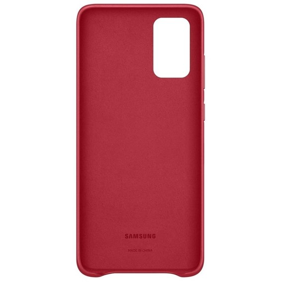 Oryginalne Skórzane Etui Samsung Galaxy S20+ Plus - Leather Cover - Red