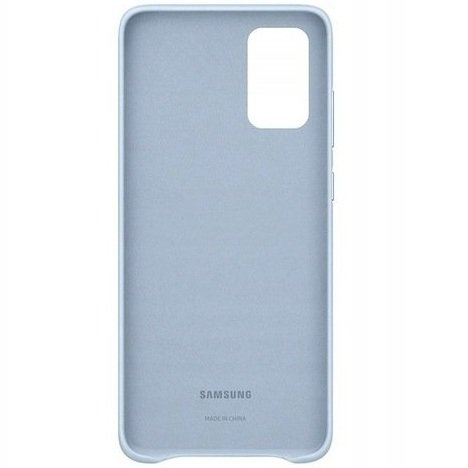 Oryginalne Skórzane Etui Samsung Galaxy S20+ Plus - Leather Cover - Sky Blue