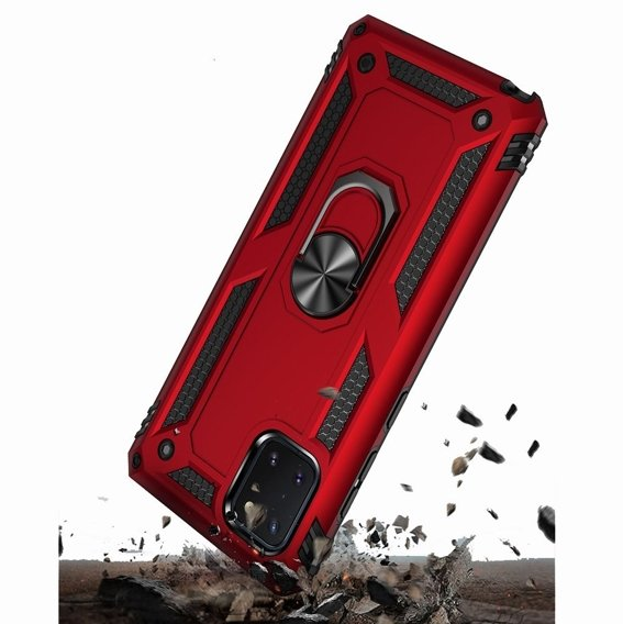 Pancerne Etui ERBORD NOX do Samsung Galaxy Note 10 Lite - Red