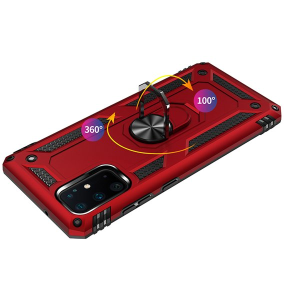Pancerne Etui ERBORD NOX do Samsung Galaxy S20 Plus - Red