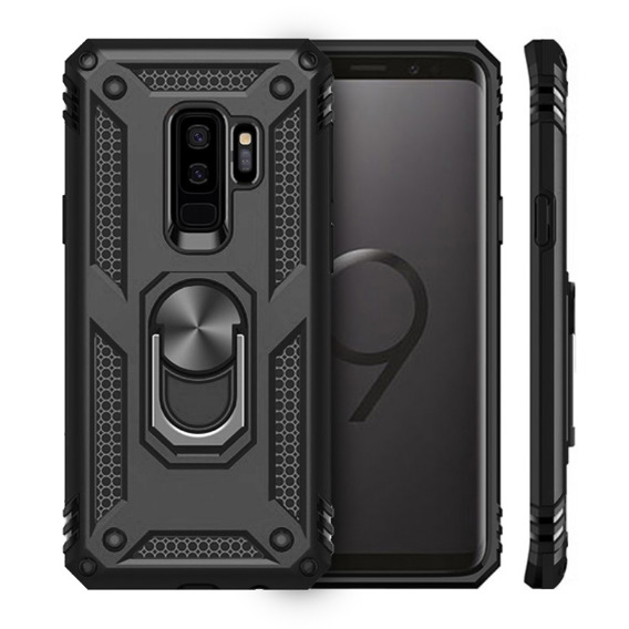 Pancerne Etui ERBORD NOX do Samsung Galaxy S9+ Plus - Black