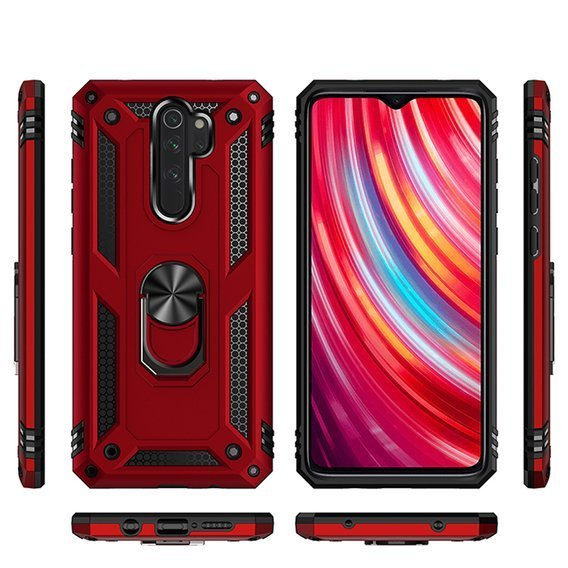 Pancerne Etui ERBORD NOX do Xiaomi Redmi Note 8 Pro - Red
