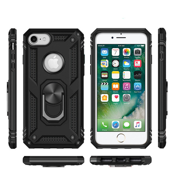 Pancerne Etui ERBORD NOX do iPhone 6/6S/7/8/SE 2020 - Black