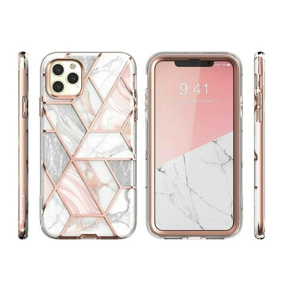 Pancerne Etui SUPCASE do iPhone 11 Pro - Cosmo - Marble