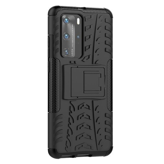 Pancerne Etui Tire Armor do Huawei P40 Pro - Black