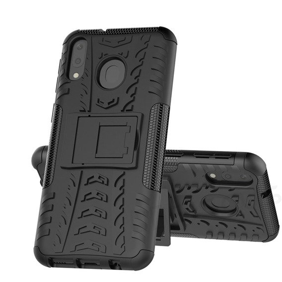 Pancerne Etui Tire Armor do Samsung Galaxy A20 / A30 - Black
