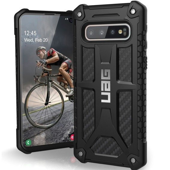 Pancerne Etui UAG Urban Armor Gear Monarch Samsung Galaxy S10 - Carbon Black