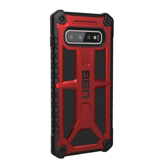 Pancerne Etui UAG Urban Armor Gear Monarch Samsung Galaxy S10+ Plus - Crimson Red