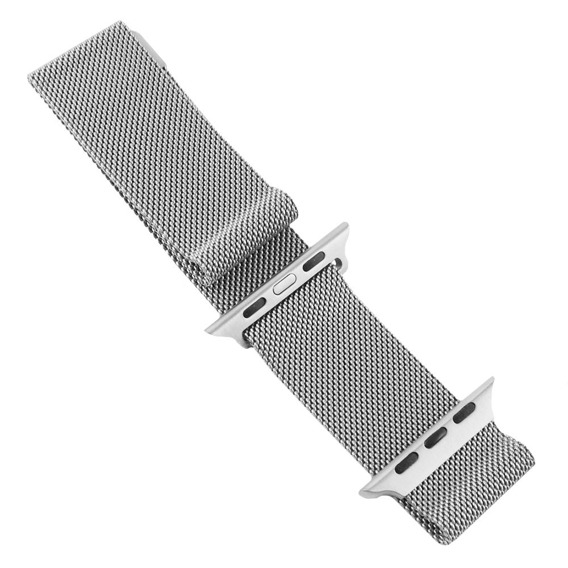 Pasek/Bransoleta Luxury do Apple Watch 1/2/3/4 (38/40MM) - Silver