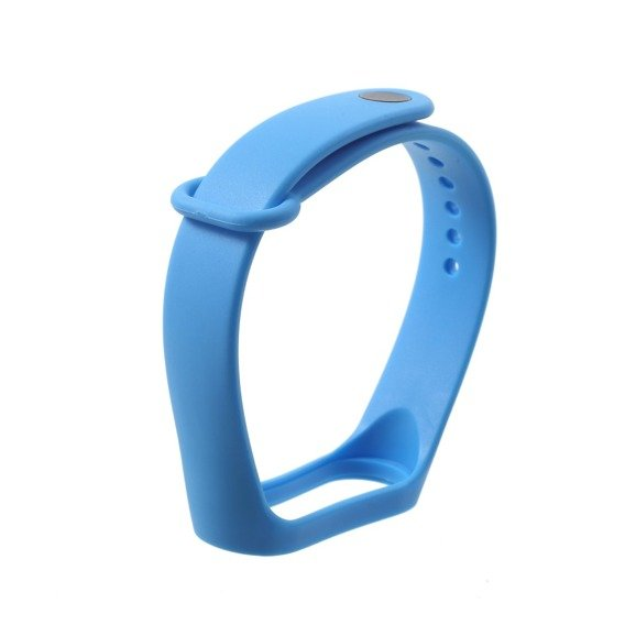 Pasek Gel Case do Xiaomi Mi Band 4 / Mi Band 3, blue