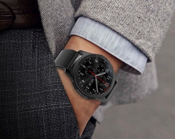 Pasek Luxury Milanese do Samsung Galaxy Watch 42mm - Black