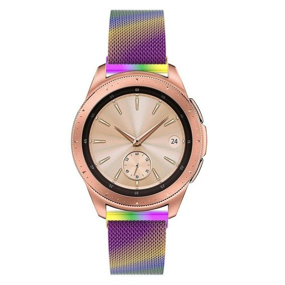 Pasek Luxury Milanese do Samsung Galaxy Watch 42mm - Multi-color