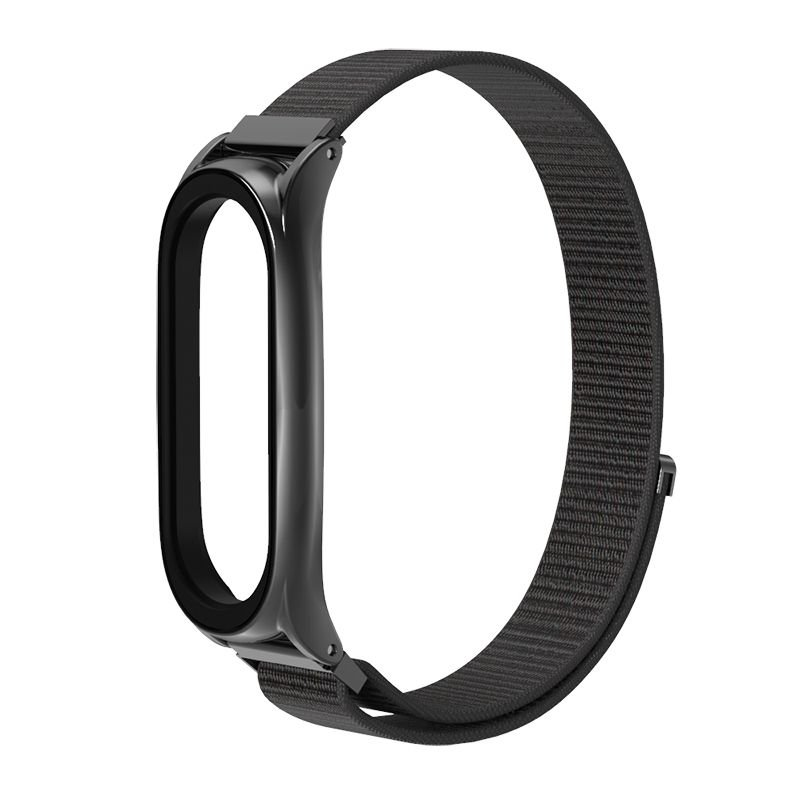 Pasek Nylon do Xiaomi Mi Band 5 - Black
