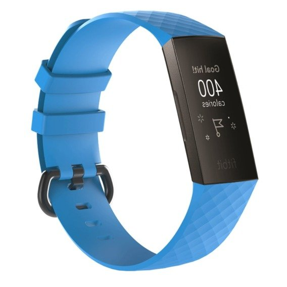 Pasek Rhombus do Fitbit Charge 3 - Blue